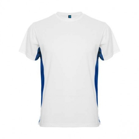 Camiseta Tokyo Blanco - Azul