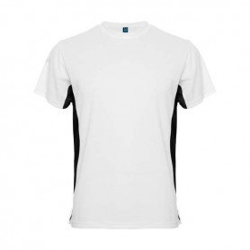 Camiseta Tokyo Blanco - negro