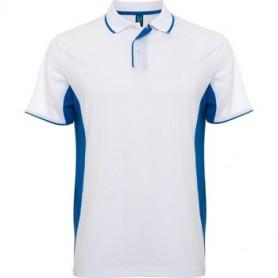 Polo Montmelo Blanco - Azul